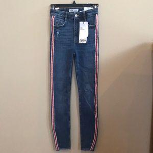 Zara Skinny Hi-Rise Ankle Length Jeans, NWT